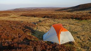 Pitch on Cronkley Fell
